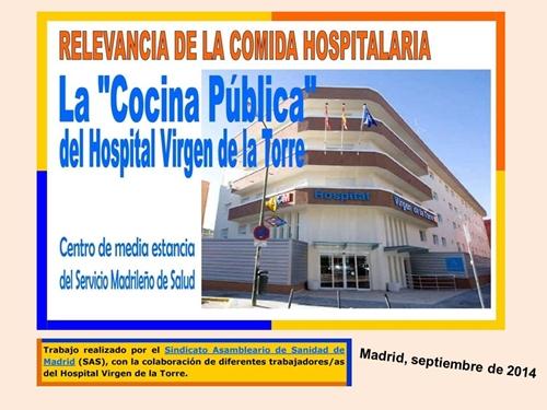 NO A LA PRIVATIZACION DE LAS COCINAS HOSPITALARIAS