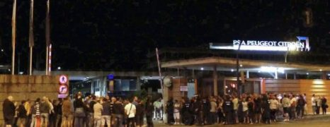 Video. Huelga en Citroen Vigo contra brutal incremento ritmos de trabajo