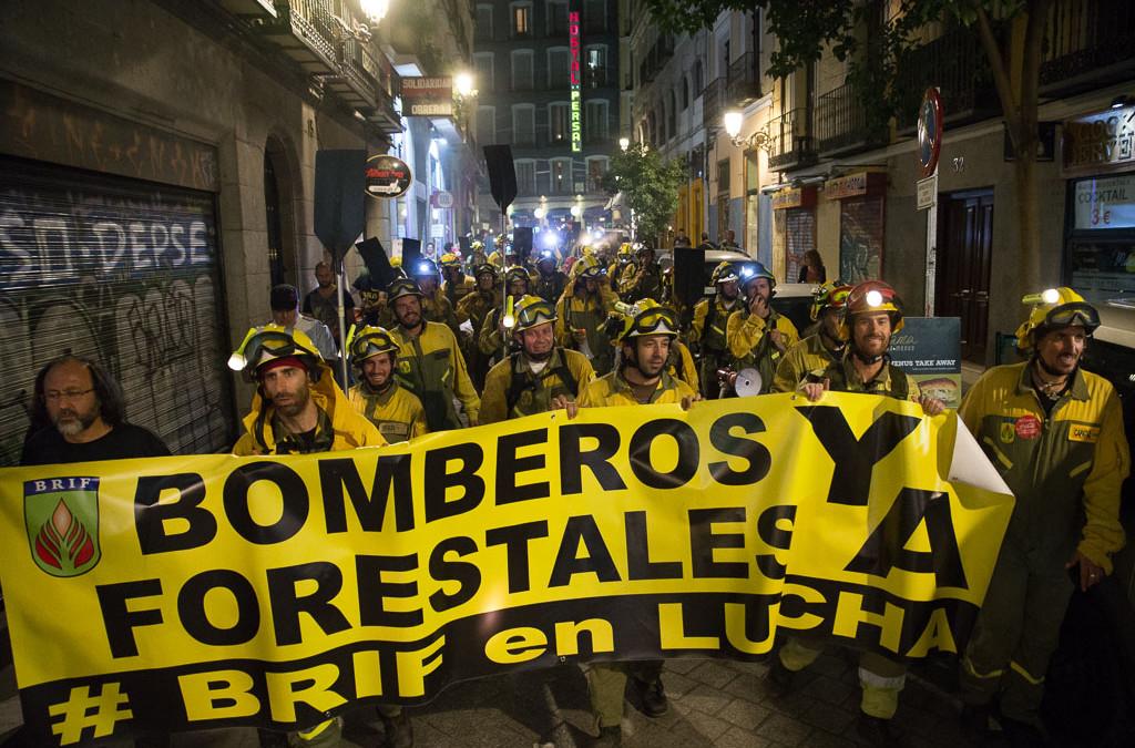 CGT exige a Tragsa que acepte las demandas de los trabajadores de la Brif tras dos meses de huelga