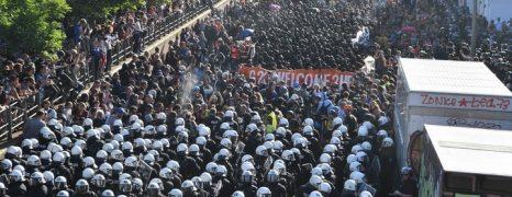 [Actualizado 23:00] G20: Bienvenidos al infierno. La policía volvió a perder esta noche en Hamburgo