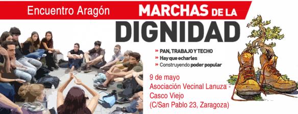 Encuentro de Movimientos Sociales por la Dignidad en Aragón