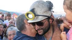 Apoyo a los compañeros de la mina Hullera Vasco Leonesa