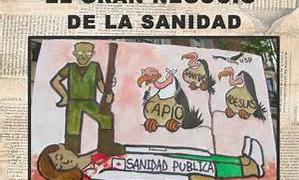 NOTICIAS SOBRE LA PRIVATIZACION DE LA SANIDAD