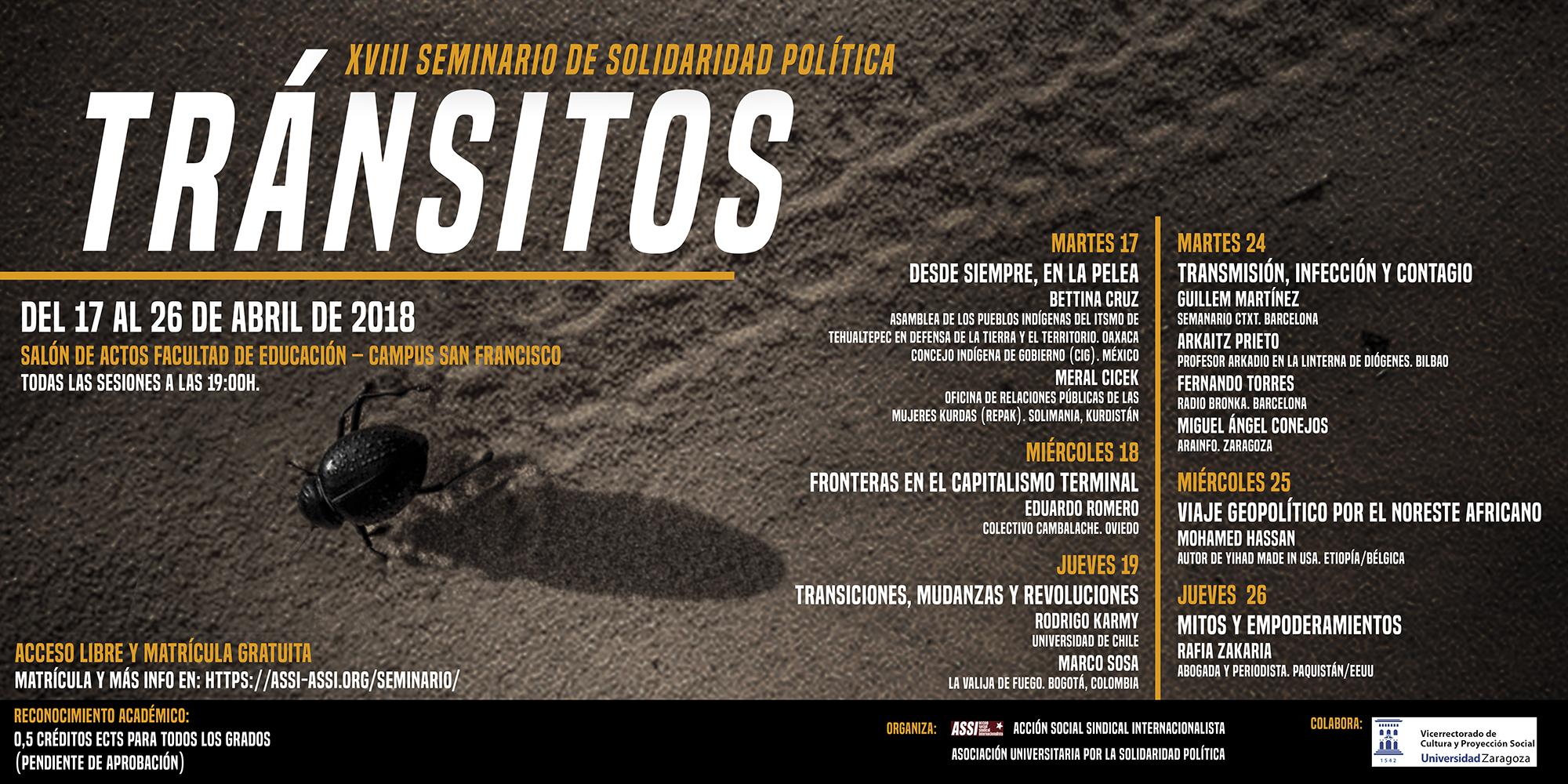 XVIII Seminario de Solidaridad Política