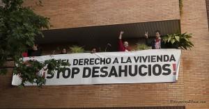 Nuevo desahucio parado en Zaragoza