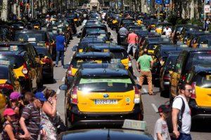 co.bas: Nuestra solidaridad yapoyo a la lucha de l@s  taxistas