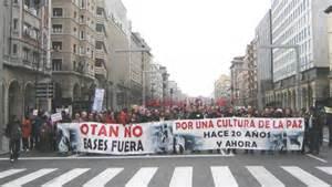 OTAN NO. ASAMBLEA ABIERTA EN ZARAGOZA Y EN MONZON