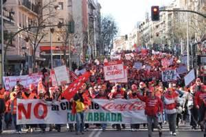 Coca-Cola paga sólo el 40% de su primera nómina a los trabajadores de Fuenlabrada