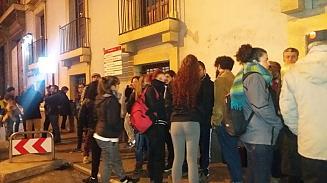 Represión contra la Acampada Murcia Sin Muros