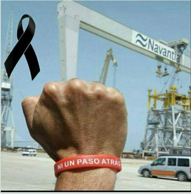 Más asesinatos en Cádiz. Concentración a las 5:30h en la entrada de los «tornos de las auxiliares»  de la factoría de Puerto Real