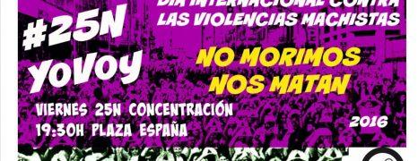 NO MORIMOS, NOS MATAN. CONCENTRACION 25N