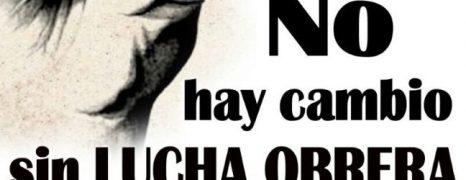 1º de Mayo 2017. DIA DE LUCHA. 12:00 H Plaza Salamero. Zaragoza.