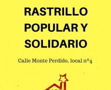 Casa del barrio Picarral. Rastrillo popular y solidario, sabado 21 de Octubre.