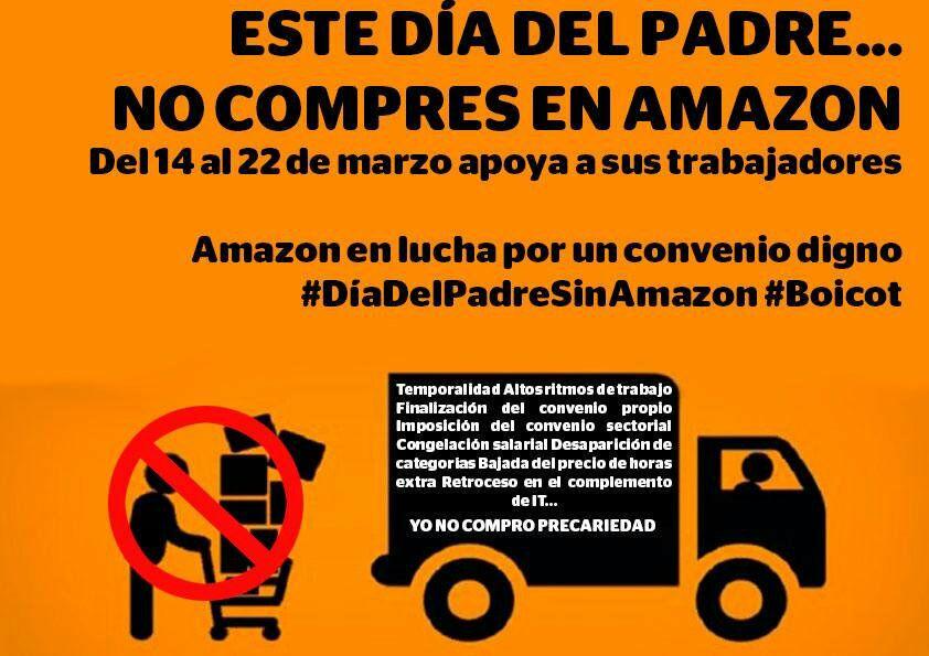 ¡Solidaridad con la Huelga de 48 horas de los  trabajadores de Amazon!