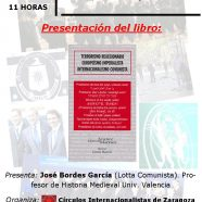 "Presentación libro: ""Terrorismo reaccionario, Europeísmo imperialista, Internacionalismo comunista""."