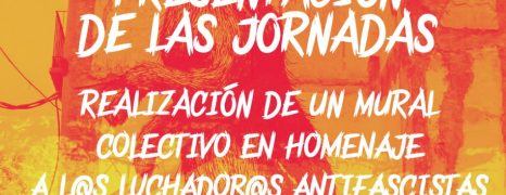 Noviembre Antifascista 2016. Zaragoza.