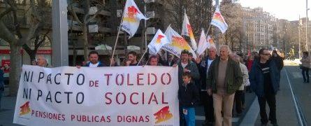 25F/2017. Manifestación en Zaragoza. Marchas de la Dignidad. Videos, fotos, declaraciones radio…