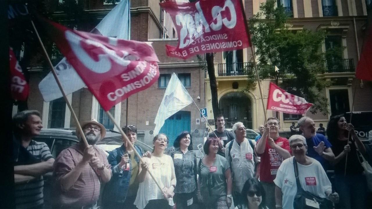 El bloque combativo y Las Marchas de la Dignidad se solidarizan con los y las trabajadoras Brasileñas