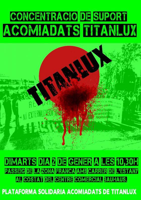 Los trabajadores de Titanlux deciden en asamblea intensificar el calendario de lucha