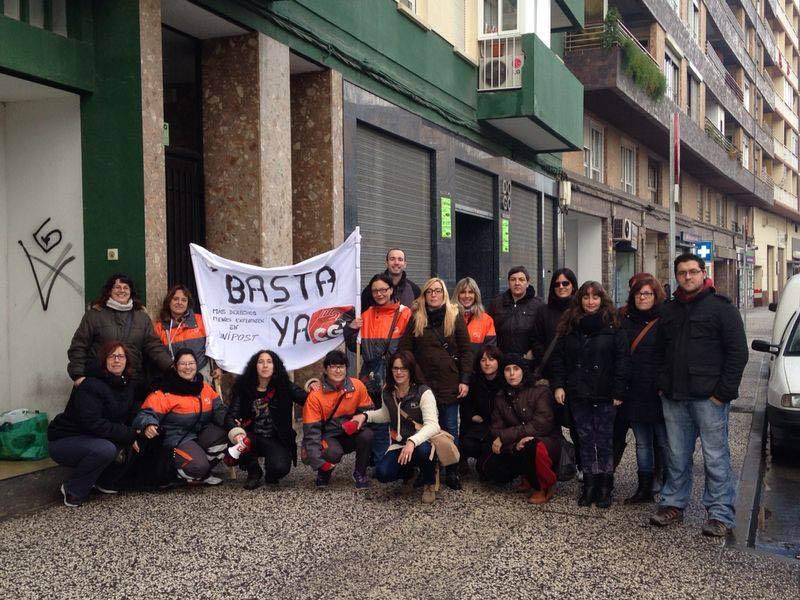 Huelga indefinida de la plantilla de Unipost de la mano del sindicato CGT. Empieza el lunes 7 de Noviembre
