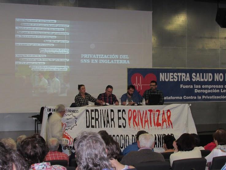 Se realizaron las Jornadas contra la privatización de la sanidad en Zaragoza