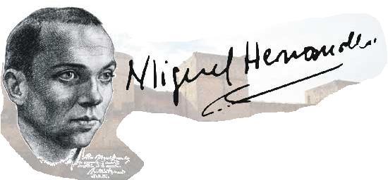 73 años sin Miguel Hernández; un poema para que siga vivo
